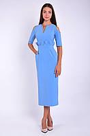 Платье женское оригинального кроя миди