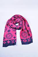 Палантин,платок женский розовый Louis Voitton