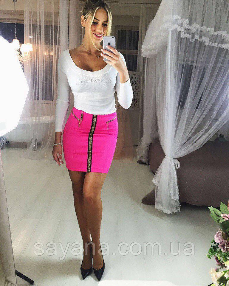 Стильная юбка мини (расцветки)