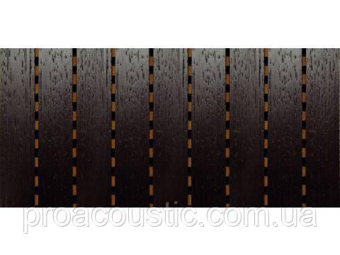 Перфорированная панель для шумоизоляции MDF Decor Acoustic Венге, фото 2