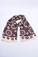 Палантин,платок женский коричневый Louis Voitton