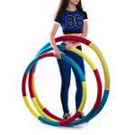 Обруч гимнастический  Здоровье 1,1 кг