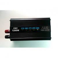 Преобразователь напряжения ( Инвертор) 12V-220 Вольт SSK 1200 Вт