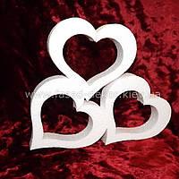 Сердца из пенопласта -50 см