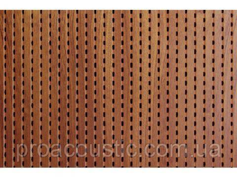 Декоративная акустическая панель MDF Decor Acoustic Махагони