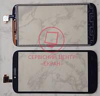 Alcatel 7047d One Touch Pop C9 тачскрін сенсор чорний якісний