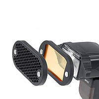Комплект сот та світлофільтрів для спалаху, фото 1