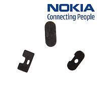 Пластик кнопки блокировки телефона для Nokia N97, оригинал (черный)