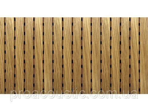 Акустическая панель для декора MDF Decor Acoustic Дуб белый , фото 2