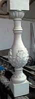 Форма полиуретановая для литья сложных балясин колонн из бетона .