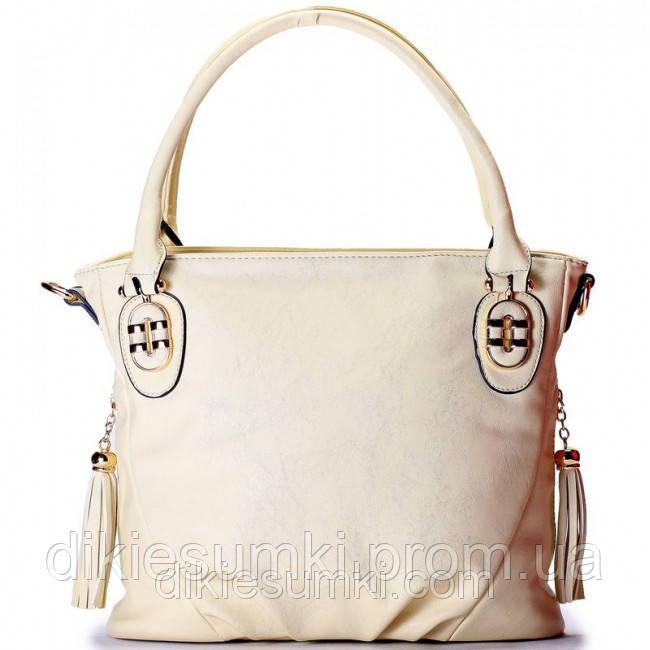 cde0b07b48fb Женская сумка Gilda Tohetti бежевая - Интернет магазин - Дикие сумки в  Черноморске