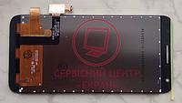 Alcatel 4027d 5017d One Touch Pixi 3 модуль дисплей тачскрін сенсор чорний якісний