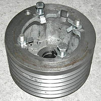Шкив двигателя привода молотилки(левая сторона)регулируемый ДОН1500