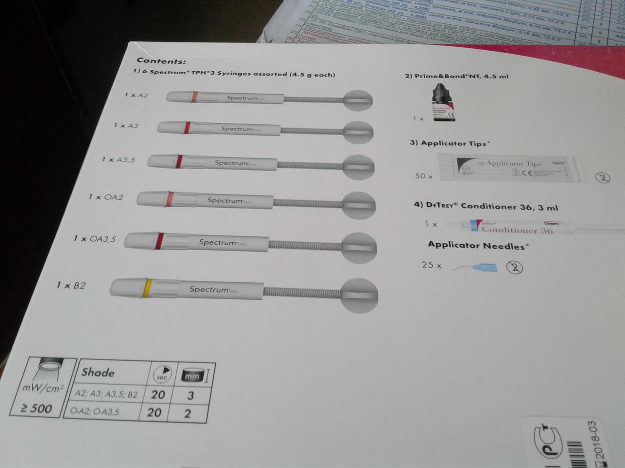 Spectrum TPH, набор, Dentsply NaviStom