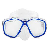 Маска для плавания и снорклинга Dolvor 276P (синий)