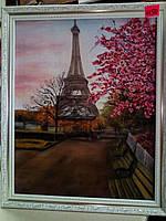 """Картина """"Париж"""", холст, масло (40х50)"""