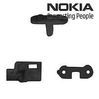 Пластик кнопки блокировки телефона для Nokia N97 Mini, оригинал (черный)