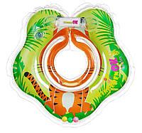 Круг для купания  младенцев на шею Тигренок KinderenOK