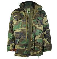 Куртка с тёплой подстежкой MilTec M65 Woodland 10315020, фото 2