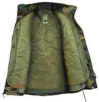 Куртка с тёплой подстежкой MilTec M65 Woodland 10315020, фото 3