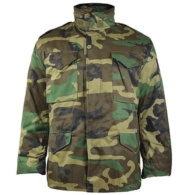 Куртка с тёплой подстежкой MilTec M65 Woodland 10315020