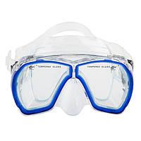 Маска для плавания и снорклинга Dolvor M 244P (синий)