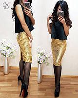 Женская юбка Паетки л-5611171