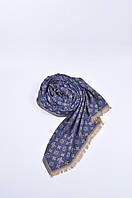 Палантин,платок женский синий Louis Voitton