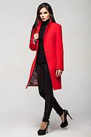 Женское пальто весна-осень Mirey,Украина, красный, 4 размера