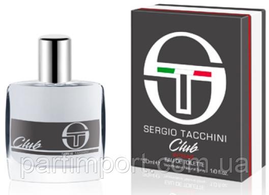 Sergio Tacchini Club Intense MEN EDT 30 ml туалетная вода мужская (оригинал подлинник  Италия)