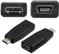 Переходник micro M/mini F, переходник конвертер Mini-HDMI Micro-HDMI