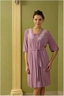 Домашний комплект Shato - 409 (женская одежда для сна, дома и отдыха, домашняя одежда, ночная)