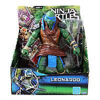 ! Уценка ! Большая фигурка Леонардо 27см из к\ф 2014 года  - Leonardo, TMNT2014, 11 Inch, Playmates