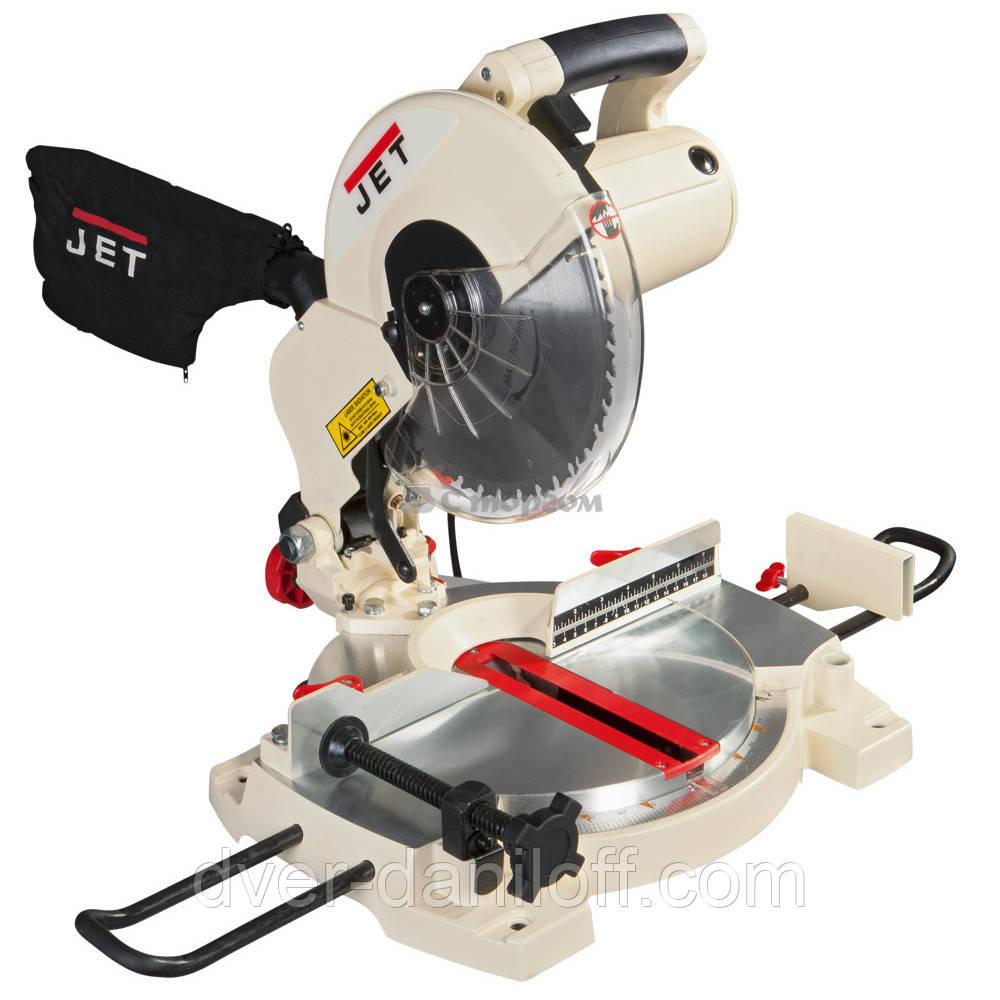 Пила торцьовальна JET JSMS-10L 1,5 кВт диск Ø= 254/30 мм