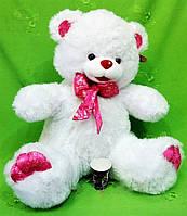 Мишка с бантом 62 cм. Мягкая игрушка Плюшевый Медведь. Подарок девушке, девочке, детям