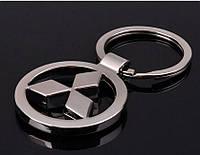 Брелок на ключи с логотипом Mitsubishi