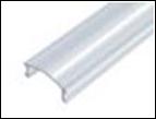 Рассеиватель для LED-профилей прозрачный  (поликарбонат)