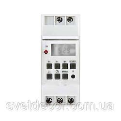 Реле времени Feron TM41 16A недельный электронный таймер на DIN-рейку – Для Света, Бойлера