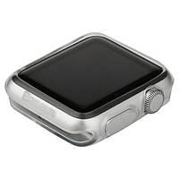Чехол силиконовый Baseus для APPLE Watch 38mm цвет: прозрачный 02
