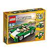 Lego Creator Зелёный кабриолет 31056