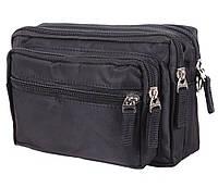 Многофункциональная текстильная мужская сумка 301275, фото 1