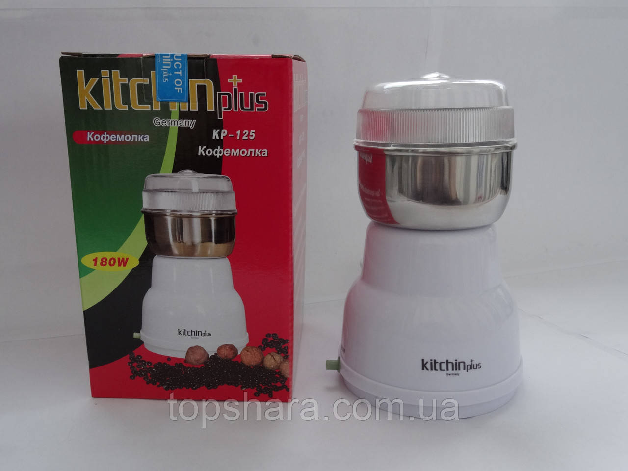 Кофемолка Kitchin Plus KP-125  180W