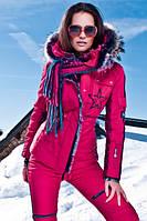 Женские зимние тёплые лыжные костюмы