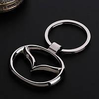 Брелок на ключи с логотипом - Mazda, фото 1
