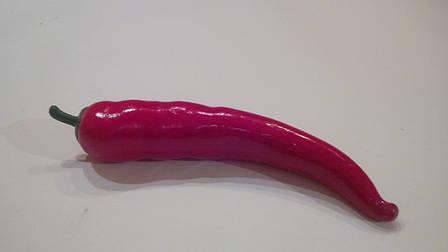 Искусственный овощ перец чили красный.Муляж перца., фото 2