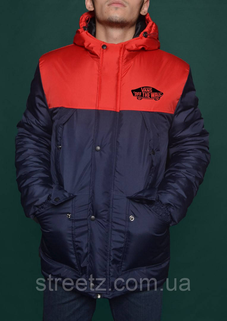 Парка зимняя Vans Off The Wall Winter Parka Jacket