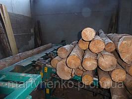 Лесопильный цех (для переработких колод с малым диаметром)