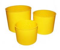 Набор силиконовых форм для пасхи, 3 шт.