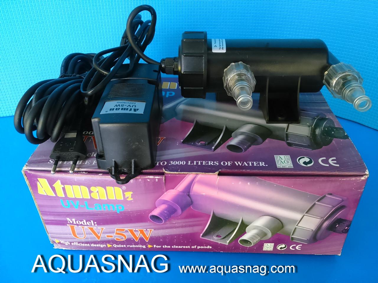 """Стерилизатор воды """"Atman"""" UV-5W"""