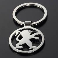 Брелок на ключи с логотипом - Peugeot, фото 1